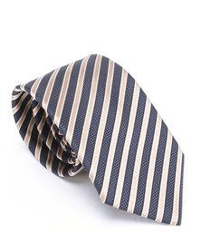 JCrew Navy & gold stripe tie Navy