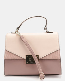 Bata Red Label Tia Handbag Mauve