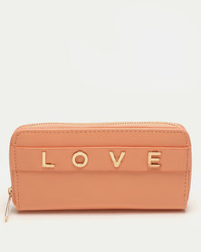 Utopia Love Purse Peach