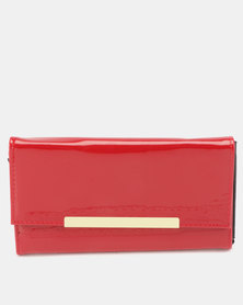 Utopia Patent Purse Red