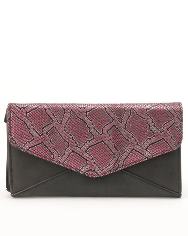 Utopia Metallic Purse Pink