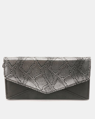 Utopia Metallic Purse Silver