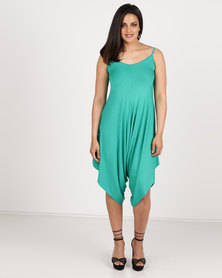 Utopia Knit Jumpsuit Green