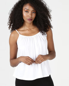 Utopia Floaty Cami White