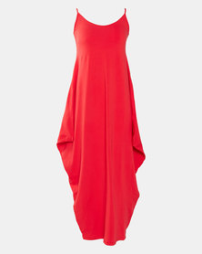 Utopia Red Harem Maxi Dress