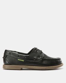 Dakotas Dockisders Leather Loafers Black