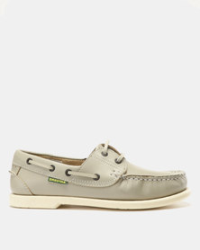 Dakotas Docksider Leather Loafers Ice