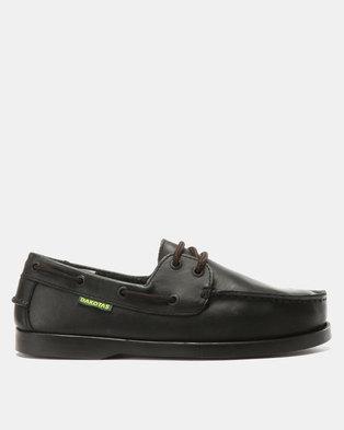 Dakotas Dockisder Oily Nubuck Loafers Black