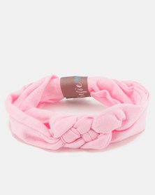 MoederLiefde Knotted Baby Headband Pink