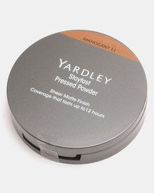 Yardley Stayfast Powder Pressed Compact Mahogany