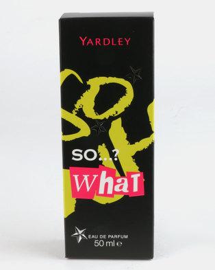 Yardley SO What Eau De Parfum 50ml