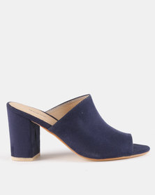 Queue Push In Mules Navy