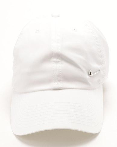 d3097160 Nike Unisex H86 Cap Metal Swoosh White | Zando