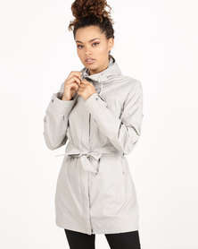 Columbia Pardon My Trench Jacket Flint