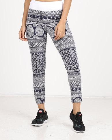 Spirit Activewear Namaste Yoga Leggings Grey