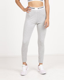 Spirit Activewear Yoga Leggings Grey