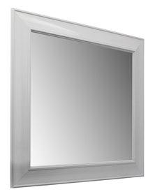 NovelOnline Wooden Framed Mirror White
