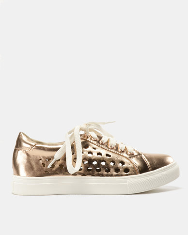 Utopia Lavish Sneakers Rose Gold