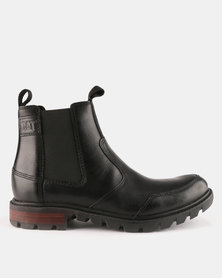 Caterpillar Economist Boots Black
