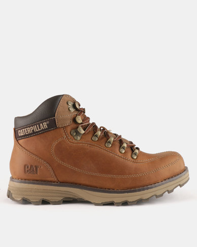Caterpillar Highbury Boots Desert Dark Beige