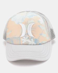 Hurley Holiday Trucker Hat Grey