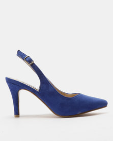 Utopia Slingback Courts Blue