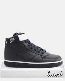 Nike Vandal High Supreme Leather Sneakers Obsidian/White