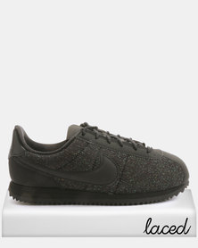 Nike Kids Cortez Basic Txt Sneakers Black