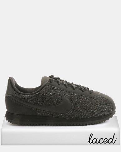 959f2e122ae3 Nike Kids Cortez Basic Txt Sneakers Black   Zando