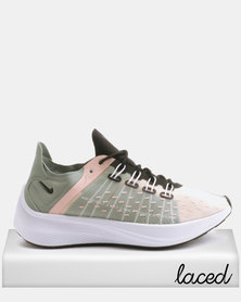 Nike Women's Exp-X14 Mica Sneakers Green/White