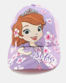 Character Brands Sofia The First Peak Cap Purple