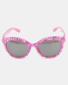 Character Brands Barbie Sunglasses Pink