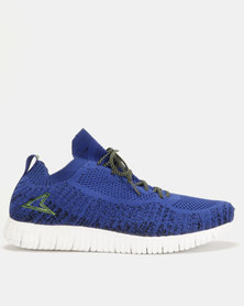 Power Performance Running Shoes Blue