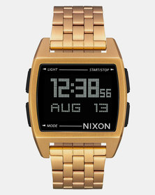 Nixon Base SS Watch All Gold-Plated