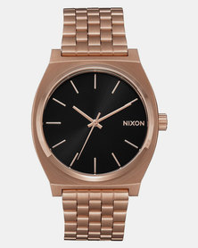 Nixon Time Teller Sunray Watch All Rose Gold-Plated/Black