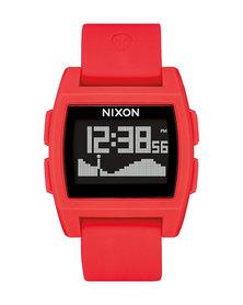 Nixon Base Tide Watch Red