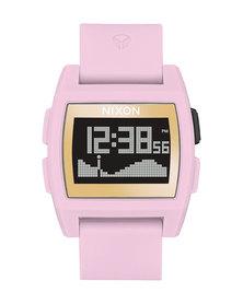Nixon Base Tide Soft LH Watch Pink Gold