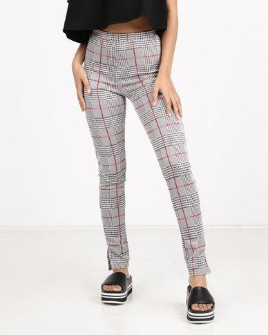 Daisy Street Casual Trousers Grey