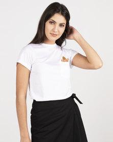 Daisy Street Deana White T-shirt White