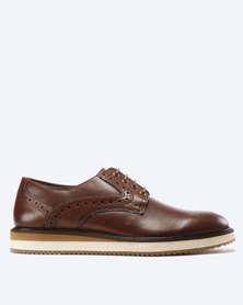 Frank Wright Marvin Leather Lace Up Tan