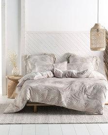 Linen House Canyon Duvet Cover Set Beige