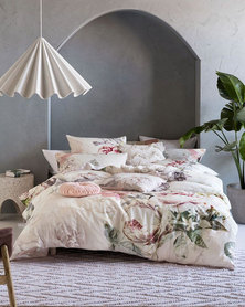 Linen House Sansa Duvet Cover Set Ivory