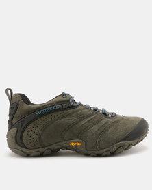 Merrell Chameleon II Leather Hiking Shoes Beluga
