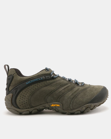low priced e5af8 658c1 Merrell Chameleon II Leather Hiking Shoes Beluga