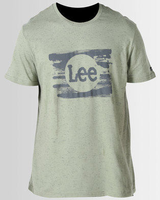 Lee Rolled Out T Shirt Green