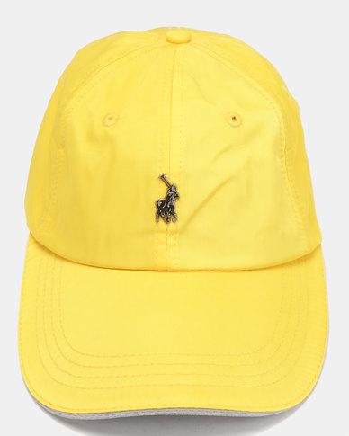 Polo Ackley Contrast Peak Yellow