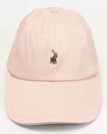 Polo Ackley Contrast Peak Pink