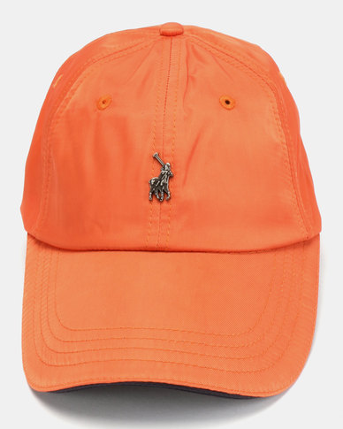 Polo Ackley Contrast Peak Orange