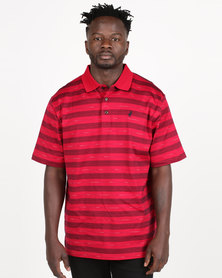 Polo Mens Classic Double Mercerized Golfer Red