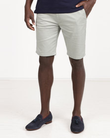 Polo Milano Stretch Chino Shorts Mint